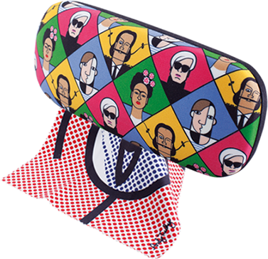 Great Modern Artists | Glasses Case with Cloth  Lichtenstein